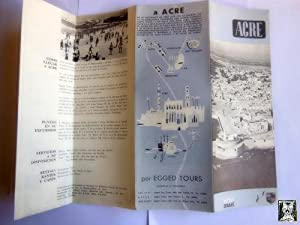 Folleto Turístico - Tourist Brochure : ACRE. ISRAEL