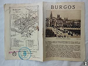 Folleto Turístico - Tourist Brochure : BURGOS