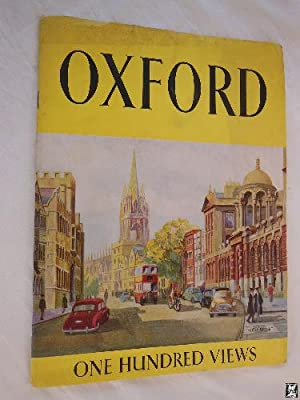 Folleto Turismo - Tourist Brochure : OXFORD. One Hundred Views.
