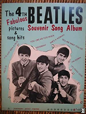 THE FOURTH FABULOUS BEATLES. SOUVENIR SONG ALBUM