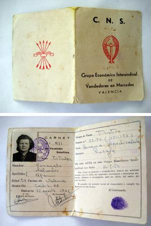 Documento - Document : CARNET EN MERCADOS. VALENCIA
