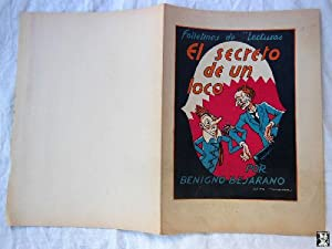 Cubiertas - Cover of Book : EL SECRETO DE UN LOCO