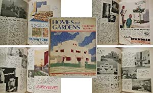 HOMES & GARDENS. Incorporating Home Magazine and The Garden. No II, Vol 14, April 1933.