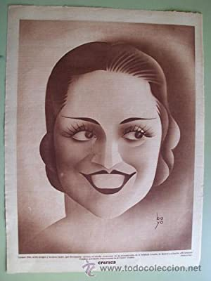 Antigua Hoja Publicidad - Old Sheet of Advertising : CARMEN DÍAZ