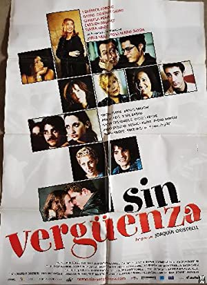 Cartel cine - Movie Poster : SIN VERGÜENZA - Original.