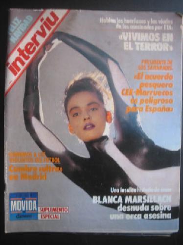 INTERVIU AÑO 12, Nº606. 23 - 29 DICIEMBRE 1987: ROGADO, Basilio (DIRECTOR)