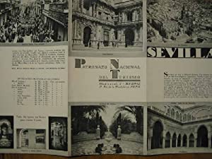 FOLLETO TURÍSTICO : SEVILLA (Tourist brochure).