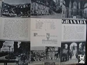 FOLLETO TURÍSTICO : GRANADA (Tourist brochure).