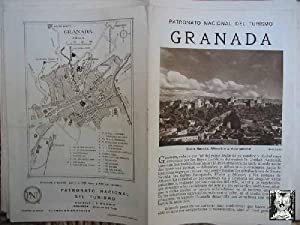 FOLLETO TURÍSTICO : GRANADA (Tourist brochure)