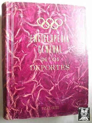 ENCICLOPEDIA GENERAL DE LOS DEPORTES: Sin autor