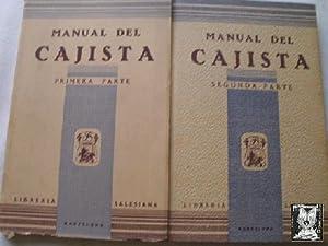 MANUAL DEL CAJISTA (2 volúmenes): Sin autor