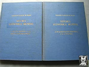 HISTORIA ECONÓMICA MUNDIAL (2 volúmenes): VÁZQUEZ DE PRADA, Valentín