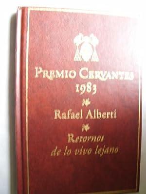RETORNOS DE LO VIVO LEJANO: ALBERTI, Rafael