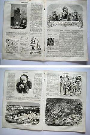 EL MUSEO UNIVERSAL. 5 marzo 1865. Núm.10, año IX.: GASPAR D.J. (Director)
