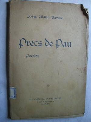 PRECS DE PAU: BAYARRI, Josep Maria