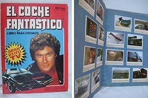 Álbum cromos - Chromes Album : EL COCHE FANTÁSTICO (Michael Knight). Completo.: ...