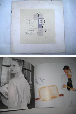 Catálogo - Catalog : Colección Primavera. Homenaje: SPAGHETTI & Co.