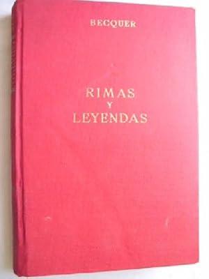 RIMAS Y LEYENDAS: BÉCQUER, Gustavo Adolfo