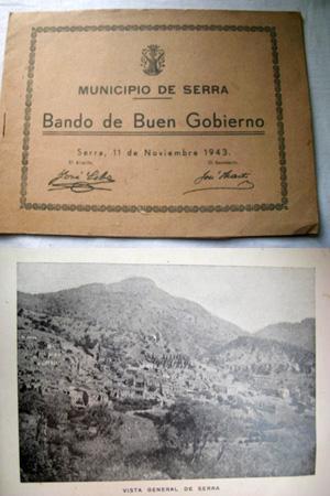MUNICIPIO DE SERRA. BANDO DE BUEN GOBIERNO: CABO José (alcalde)