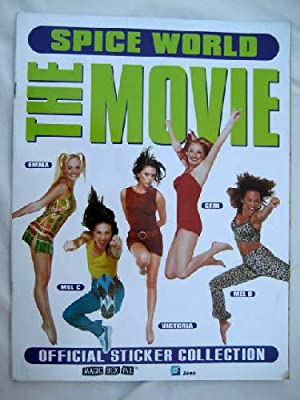 Official Sticker Collection - SPICE WORLD THE MOVIE