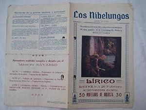 Folleto cine - Film Brochure : LOS NIBELUNGOS (Sigfrido): FRITZ LANG (Director)