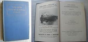 ANUARIO INTERNACIONAL 1926-1927: HUNTER, J.A.