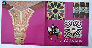 Folleto turístico - Tourist Brochure : GRANADA. 1974