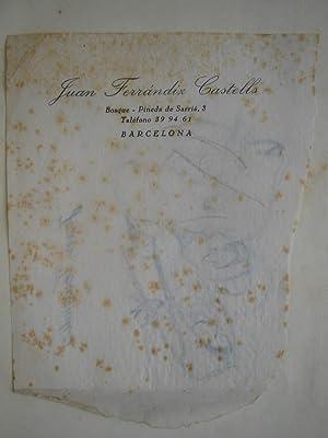 EL LLIBRE DE FADES D'ARTHUR RACKHAM. (Perteneciente a Juan Ferrandiz Castells, con dos dibujos...