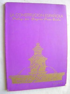 LA CONSTITUCIÓN ESPAÑOLA: Sin autor
