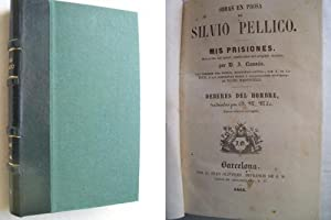 MIS PRISIONES/ DEBERES DEL HOMBRE: PELLICO, Silvio