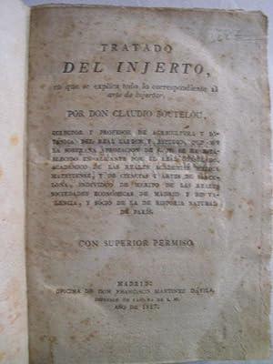 TRATADO DEL INJERTO: BOUTELOU, Claudio