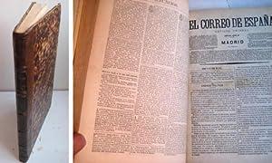 EL CORREO DE ESPAÑA. 17 Números. Año 1872: AAVV