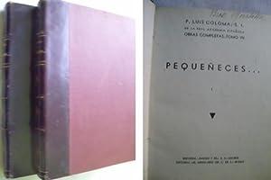 PEQUEÑECES (2 volúmenes): COLOMA, Luis