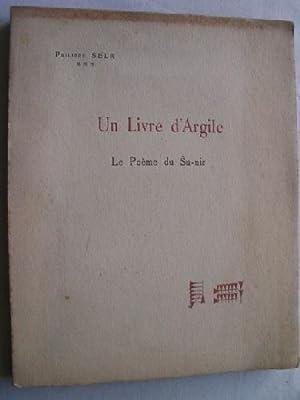 UN LIVRE D ARGILE: SELK, Philippe