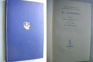 EL JARDINERO: TAGOR, Rabindranaz