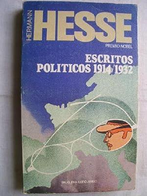 ESCRITOS POLÍTICOS 1914/1932: HESSE, Hermann
