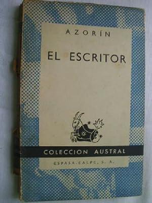 EL ESCRITOR: AZORÍN