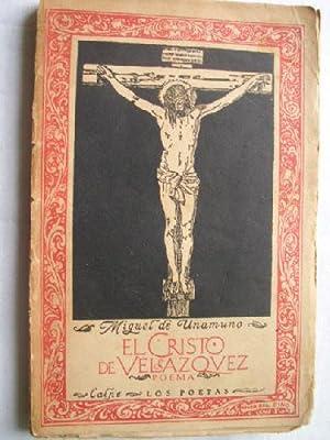 EL CRISTO DE VELÁZQUEZ: DE UNAMUNO, Miguel