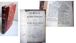 FÁBULAS EN VERSO CASTELLANO: IBÁÑEZ, Josef Agustín
