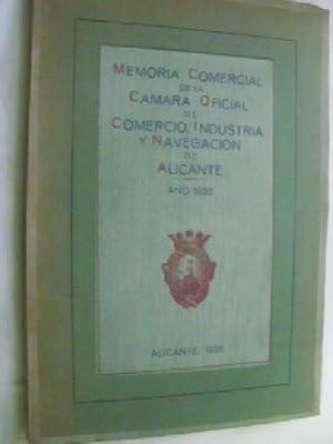 MEMORIA COMERCIAL DE LA CÁMARA OFICIAL DE COMERCIO, INDUSTRIA Y NAVEGACIÓN DE ...