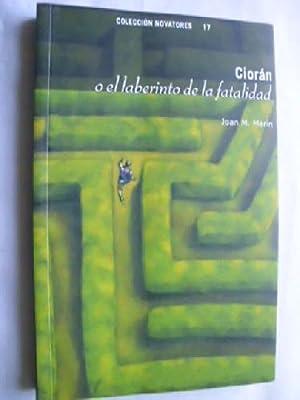 CIORÁN O EL LABERINTO DE LA FATALIDAD: MARÍN, Joan M.