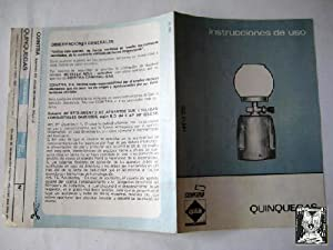 Folleto Publicidad - Advertising Brochure : QUINQUEGAS: COINTRA