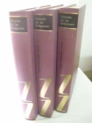 HISTORIA DE LAS RELIGIONES (3 volúmenes): AAVV