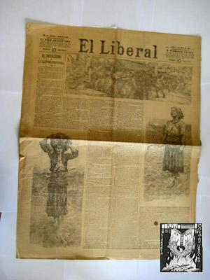 EL LIBERAL. 1 de mayo 1893. Nº 5060: AAVV