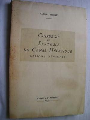 CHIRUGIE DU SYSTÈME DU CANAL HÉPATIQUE: MIRIZZI, Pablo L.