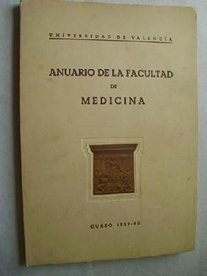 ANUARIO DE LA FACULTAD DE MEDICINA, curso 1959-60.: Sin autor