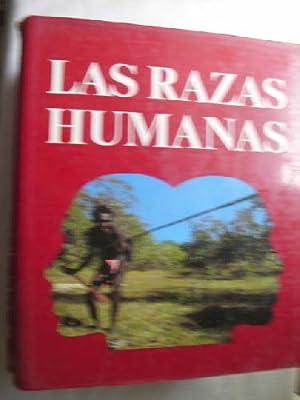 LAS RAZAS HUMANAS (4 volúmenes): Sin autor