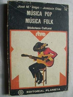 MÚSICA POP Y MÚSICA FOLK: ÍÑIGO, José Mª