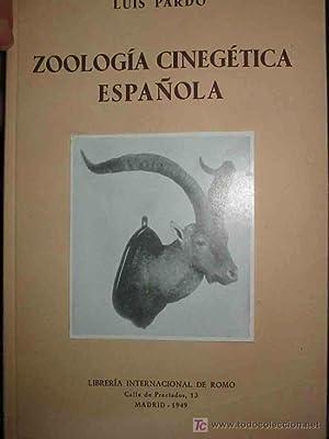 ZOOLOGÍA CINEGÉTICA ESPAÑOLA. Tomo I : Los Mamíferos ( Fauna de caza de...