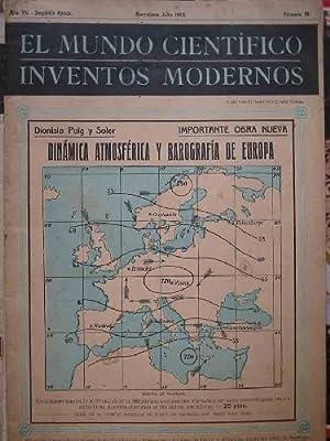 EL MUNDO CIENTÍFICO. INVENTOS MODERNOS N 19: G.DE NADAL MªFernanda (Directora)